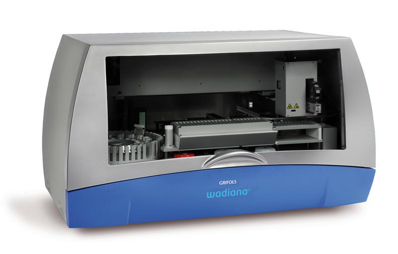 Máy xác định nhóm máu tự động